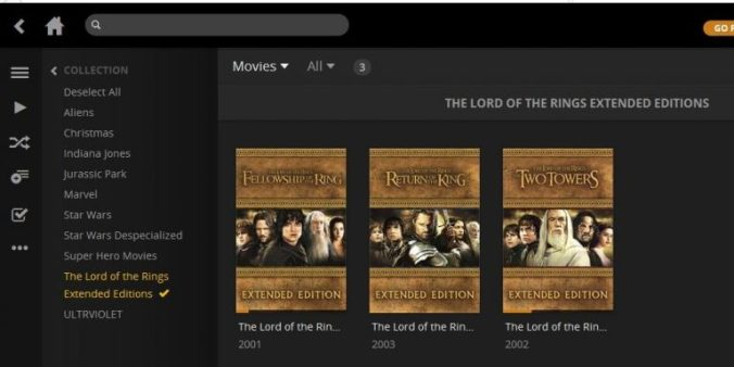 Lord of the Rings Extended Editions