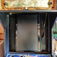 Fitting Dynex LCD TV to cabinet