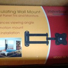 Articulating LCD mount.